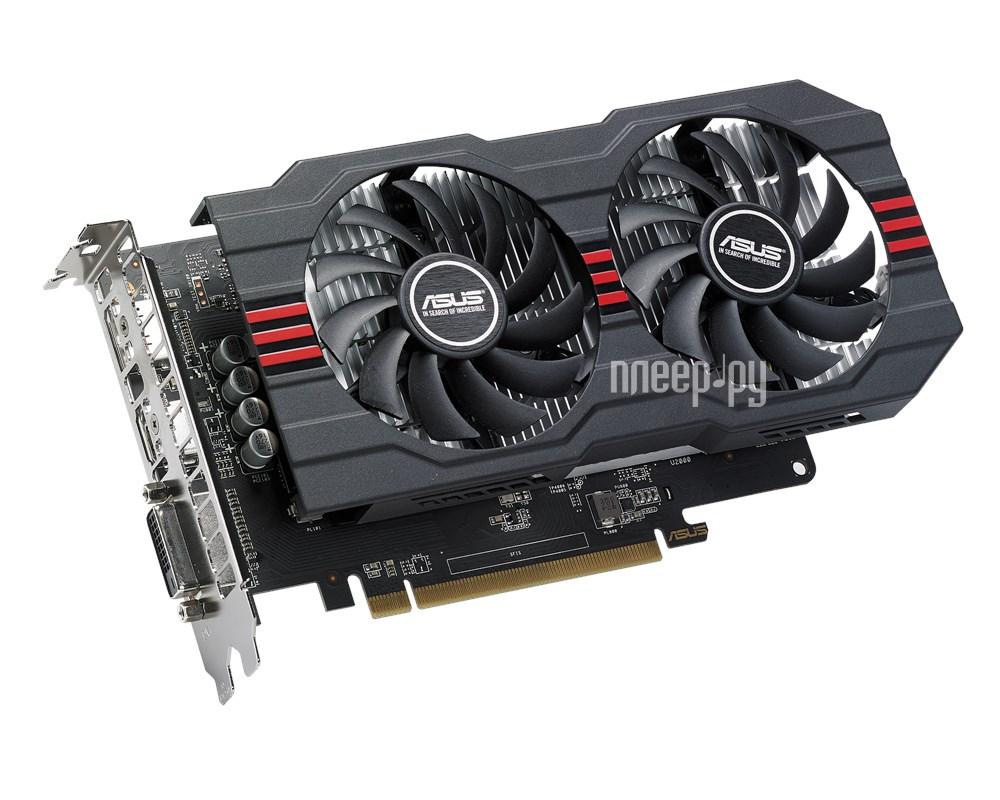 Видеокарта ASUS Radeon RX 560 1275Mhz PCI-E 2048Mb 7000Mhz 128 bit DVI HDMI HDCP RX560-O2G купить