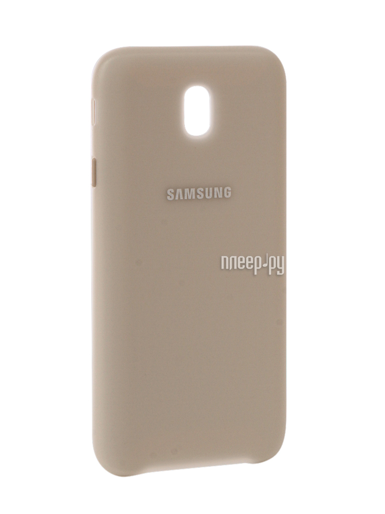 Аксессуар Чехол Samsung Galaxy J7 2017 SM-J730 Layer Cover Gold EF-PJ730CFEGRU