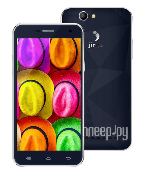 Сотовый телефон Jinga Fresh 4G Dark Blue
