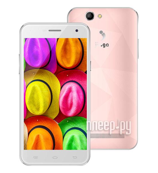 Сотовый телефон Jinga Fresh 4G Pink