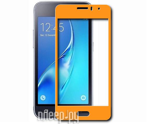 Аксессуар Закаленное стекло Samsung Galaxy J1 mini Prime SM-J106 DF Fullscreen sColor-25 Gold купить