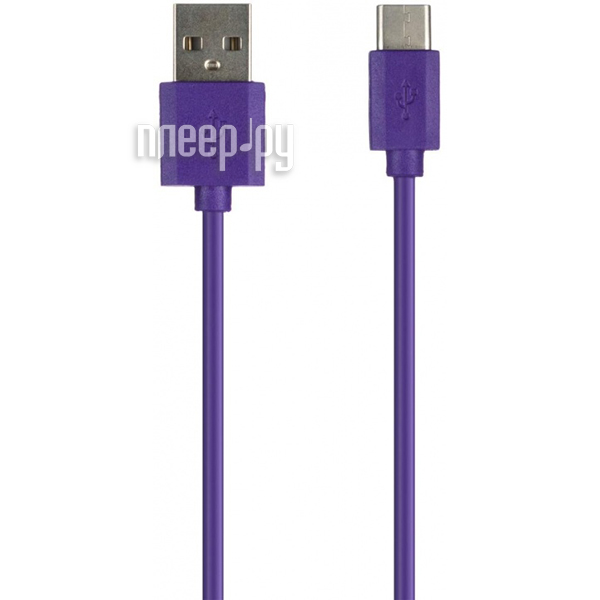 Аксессуар Red Line USB - Type-C Purple