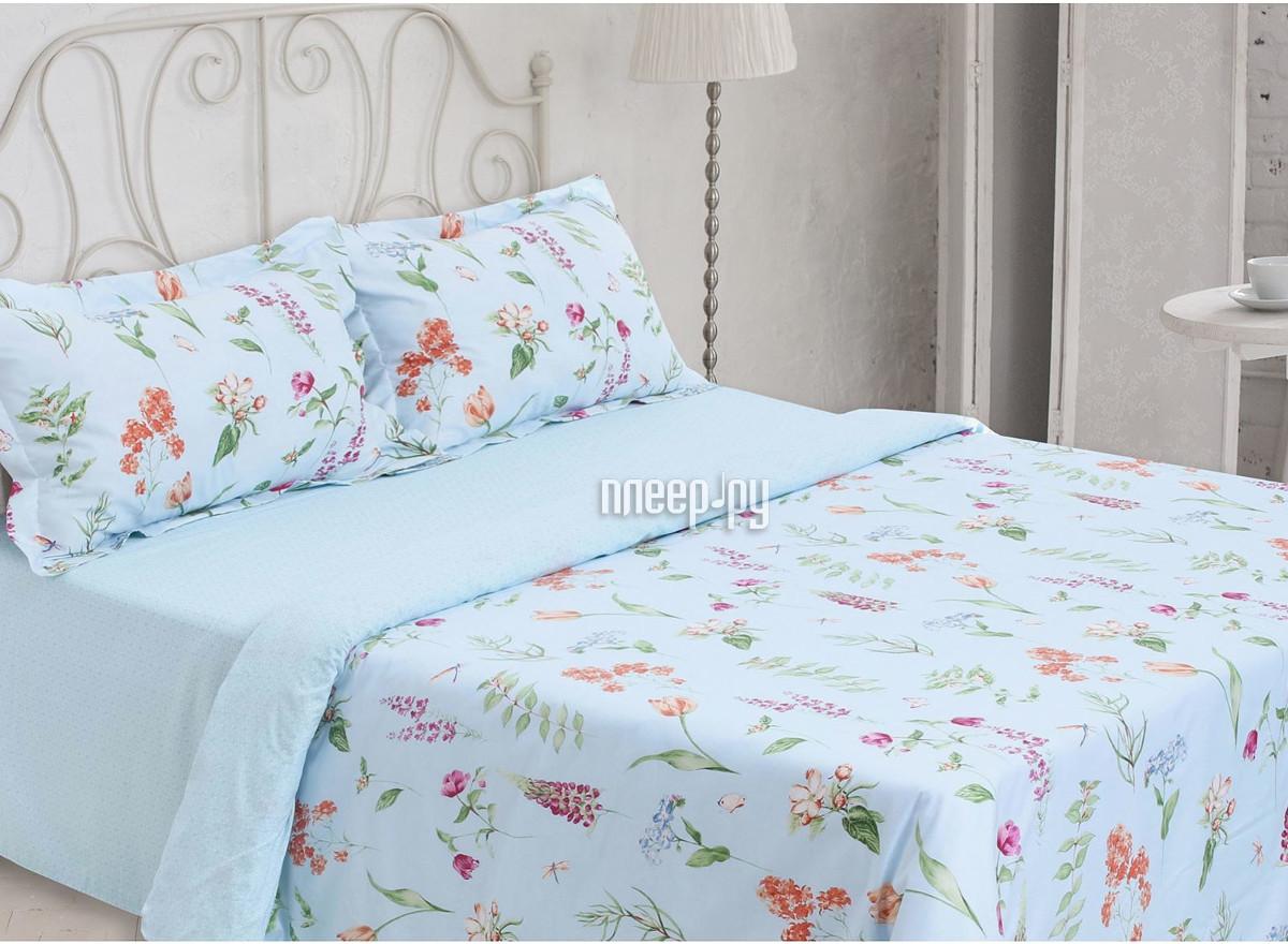 Постельное белье Этель Флора Комплект 2 спальный Сатин 1773452