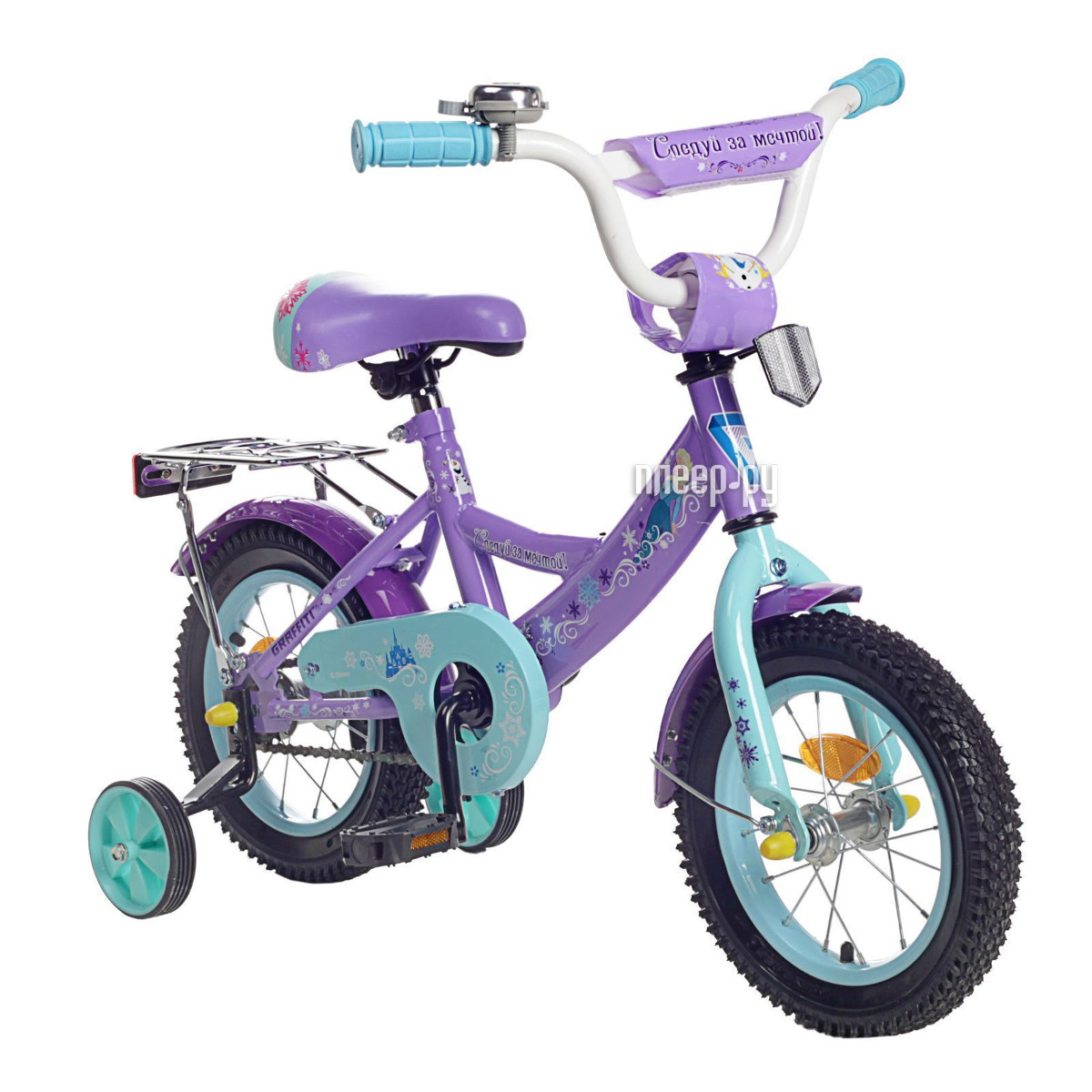Велосипед GRAFFITI Холодное Сердце Purple 1223806 купить
