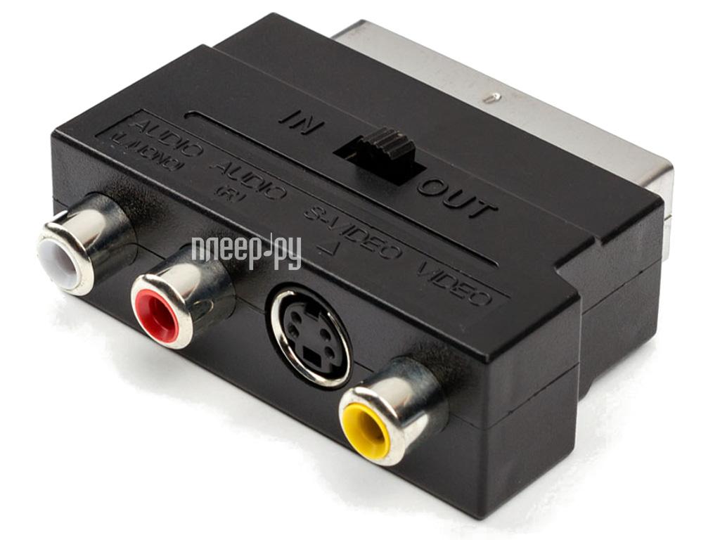 Аксессуар ATcom Geplink SCART - 3RCA+SVHS АТ1010