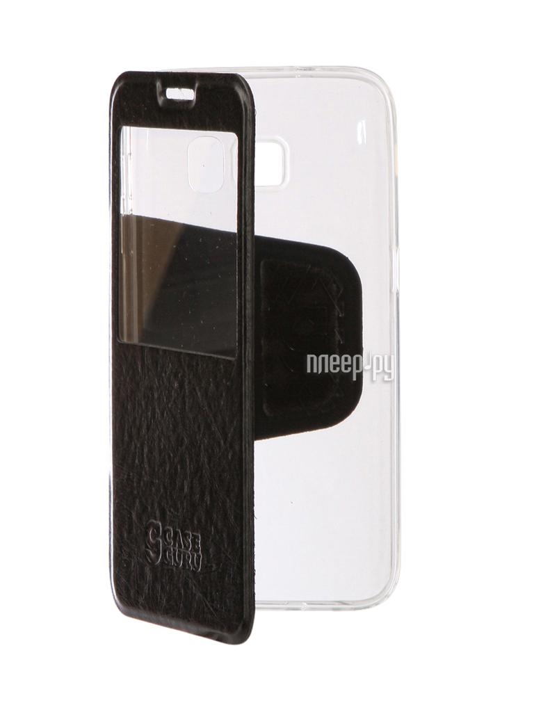 Аксессуар Чехол для Samsung Galaxy S7 CaseGuru Ulitmate Case Glossy Black 95389