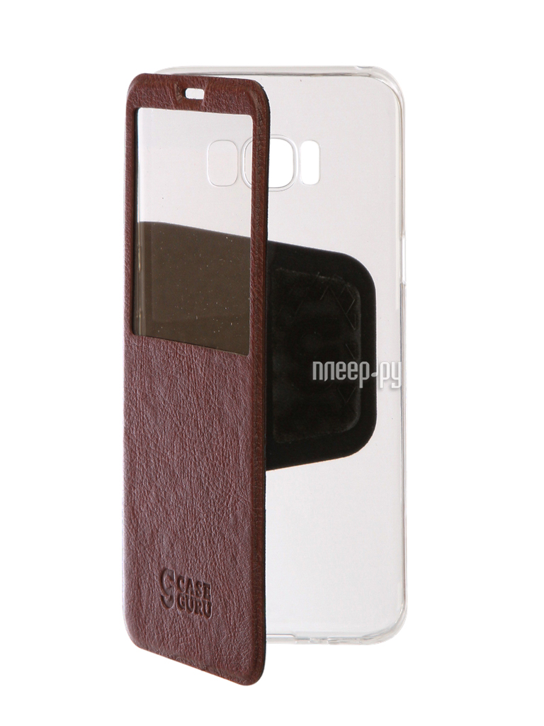 Аксессуар Чехол Samsung Galaxy S8 Plus CaseGuru Ulitmate Case Rich Brown 95525