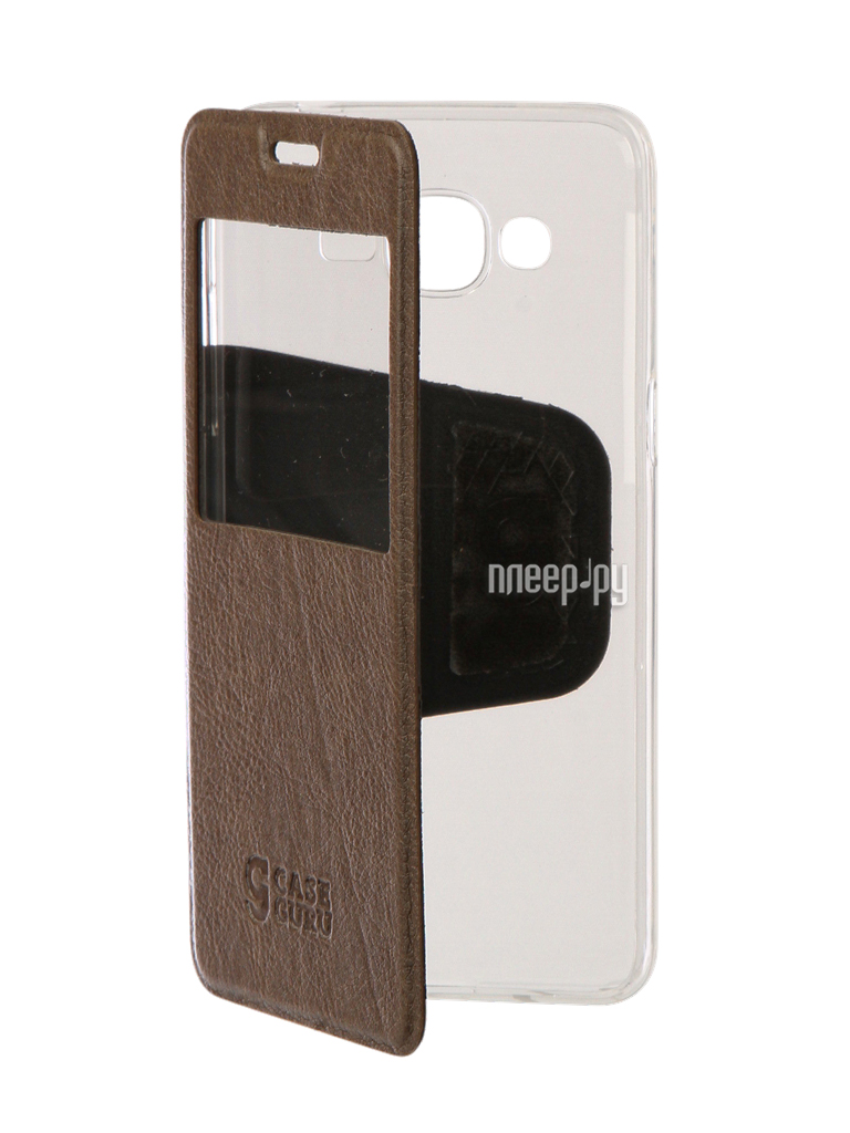 Аксессуар Чехол Samsung Galaxy J2 Prime CaseGuru Ulitmate Case Light Brown 95501