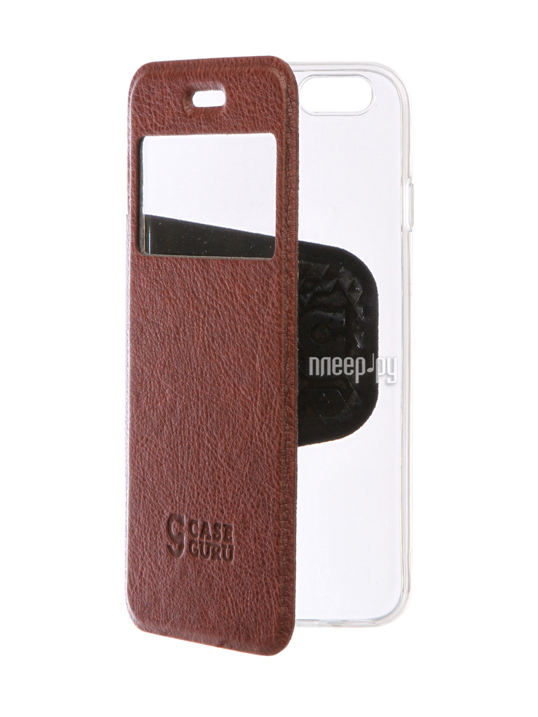 Аксессуар Чехол CaseGuru Ulitmate Case для APPLE iPhone 6 / 6S Rich Brown 95509