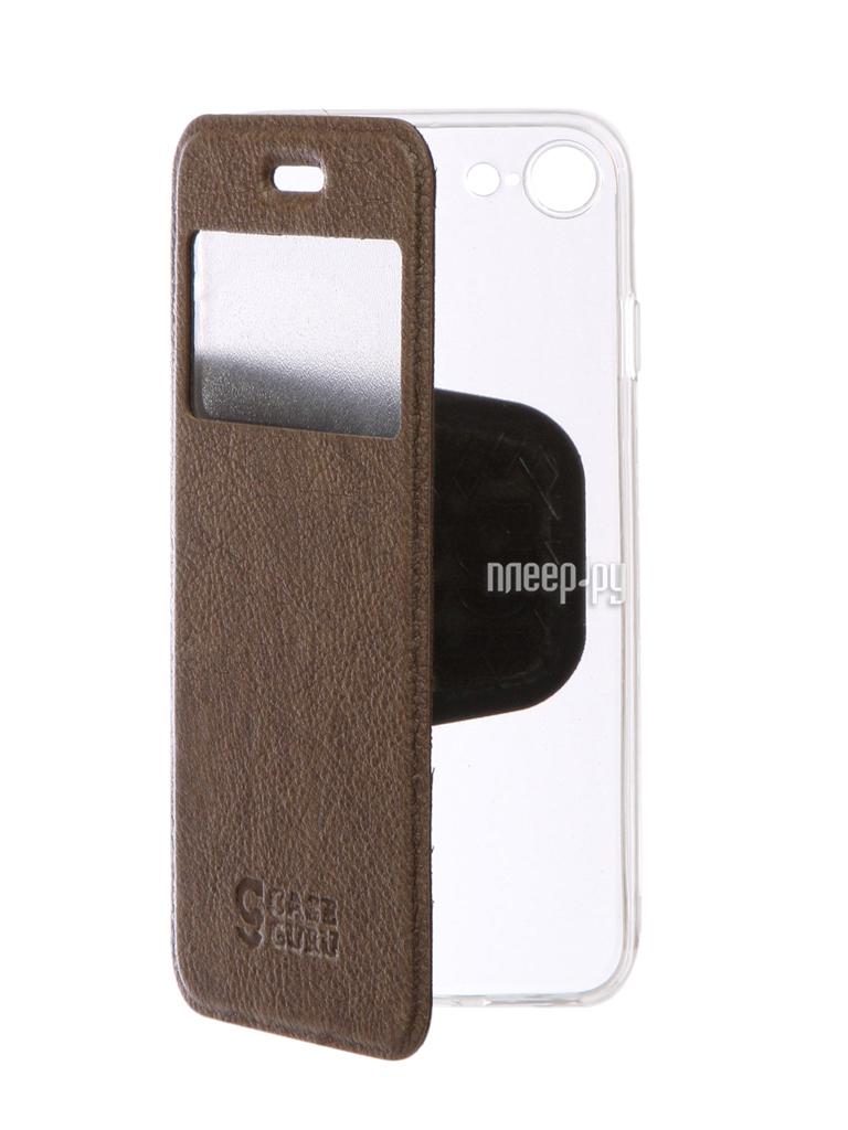 Аксессуар Чехол CaseGuru Ulitmate Case для APPLE iPhone 7 Light Brown 95491