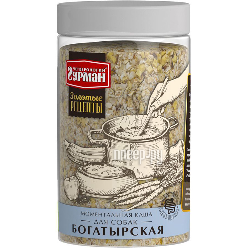 Корм Четвероногий Гурман Богатырская каша 300g 61190 купить