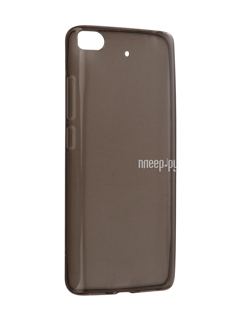 Аксессуар Чехол Xiaomi Mi5S Snoogy Creative Silicone 0.3mm Black