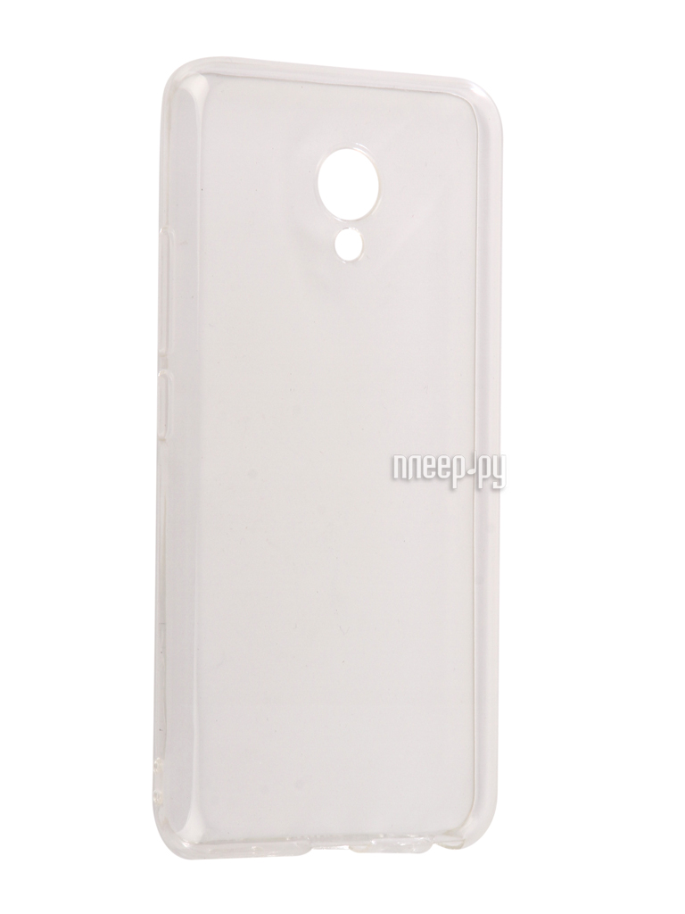 Аксессуар Чехол Meizu M5 mini Snoogy Creative Silicone 0.3mm White