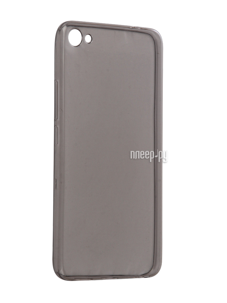 Аксессуар Чехол Meizu U20 Snoogy Creative Silicone 0.3mm Black
