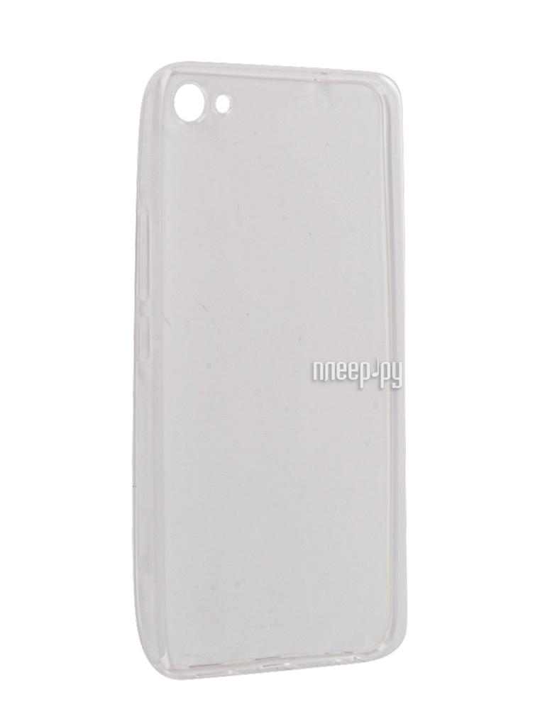 Аксессуар Чехол Meizu U20 Snoogy Creative Silicone 0.3mm White