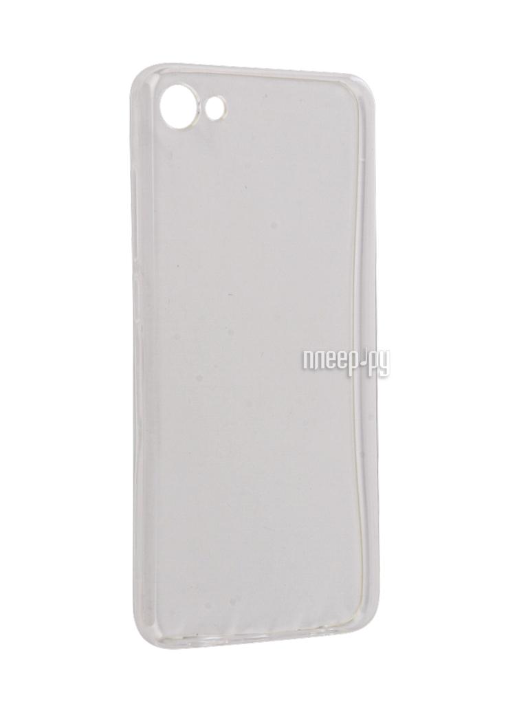 Аксессуар Чехол Meizu U10 Snoogy Creative Silicone 0.3mm White