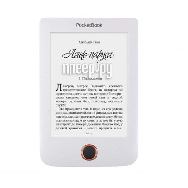 Электронная книга PocketBook 614 Plus White PB614-2-D-RU