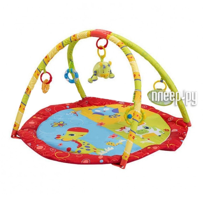 Развивающий коврик BabyOno Мир животных 1156