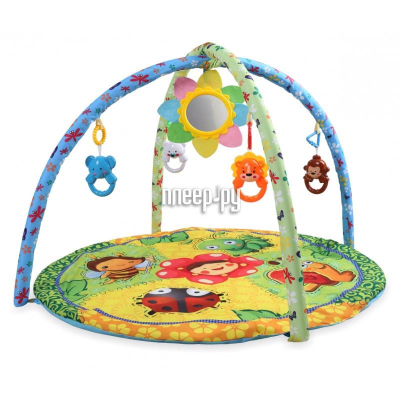 Развивающий коврик BabyMix Лесная полянка 191605004