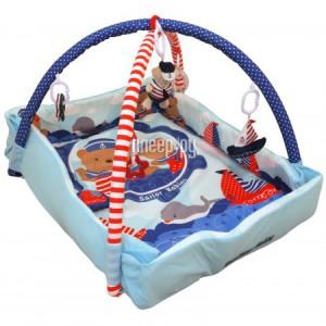 Купить Развивающий коврик BabyMix Мишка на волнах 3261CE-62104