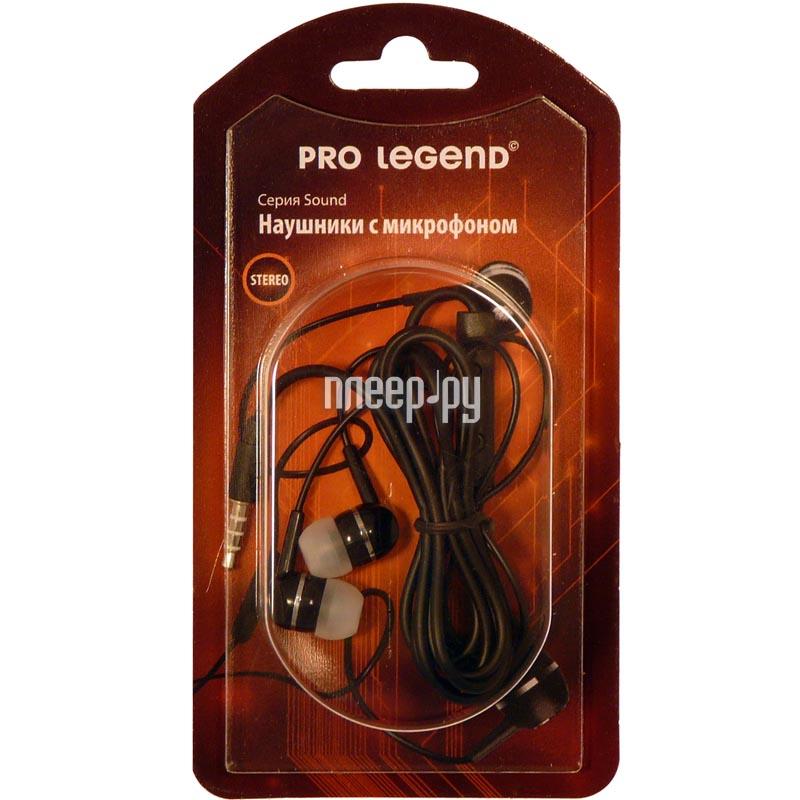 Гарнитура Pro Legend Bass PL5002 Black купить