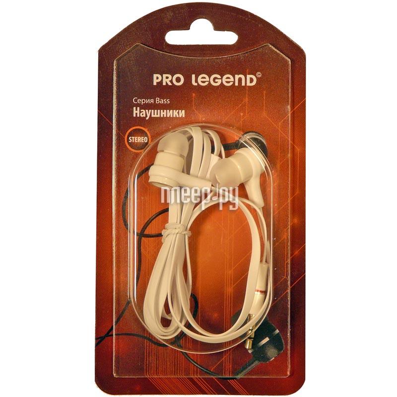 Наушники Pro Legend PL5001 White
