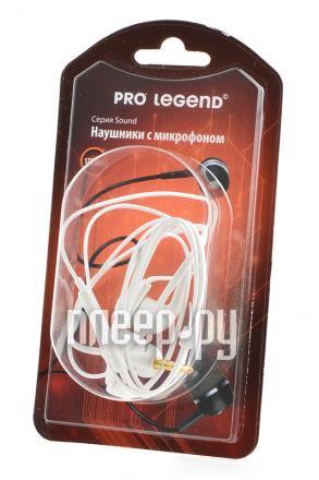 Гарнитура Pro Legend PL5026 White купить