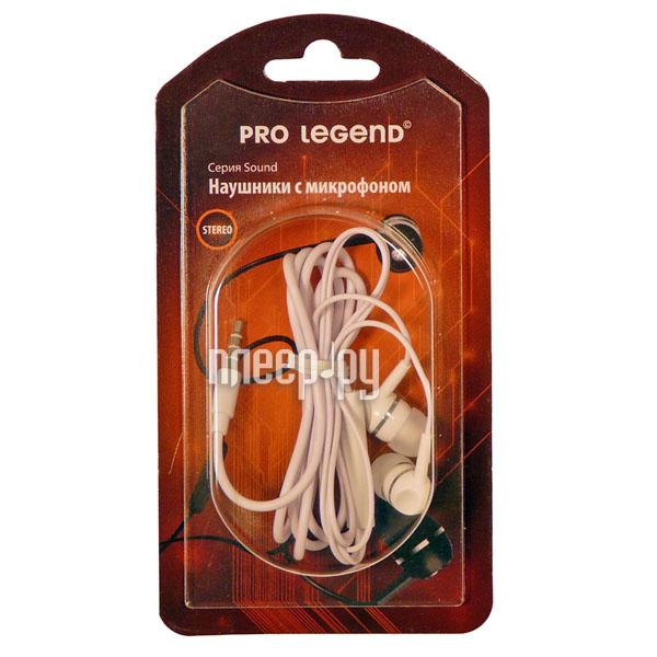 Гарнитура Pro Legend Sound PL5023 White