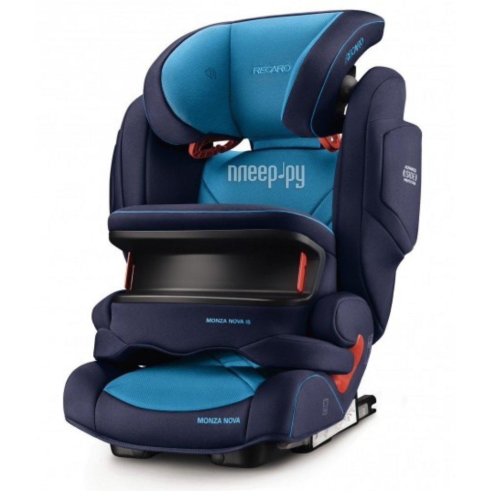 Автокресло Recaro Monza Nova is Seatfix Xenon Blue 6148.21504.66 купить