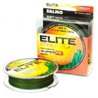 Леска Salmo Elite Braid Green 020/015 4803-015