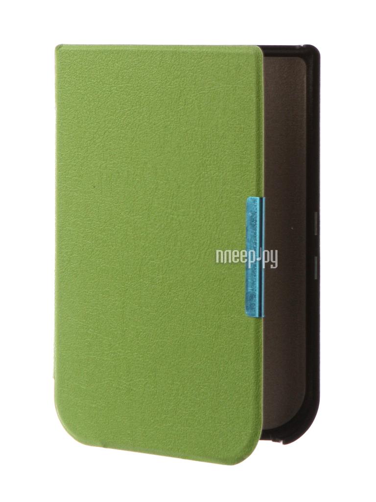 Аксессуар Чехол for PocketBook 631 TehnoRim Slim Green TR-PB631-SL01GR