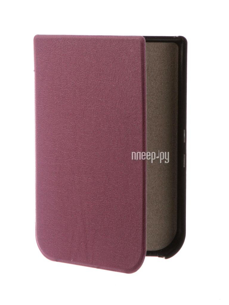 Аксессуар Чехол for PocketBook 631 TehnoRim Slim Purple TR-PB631-SL01PR