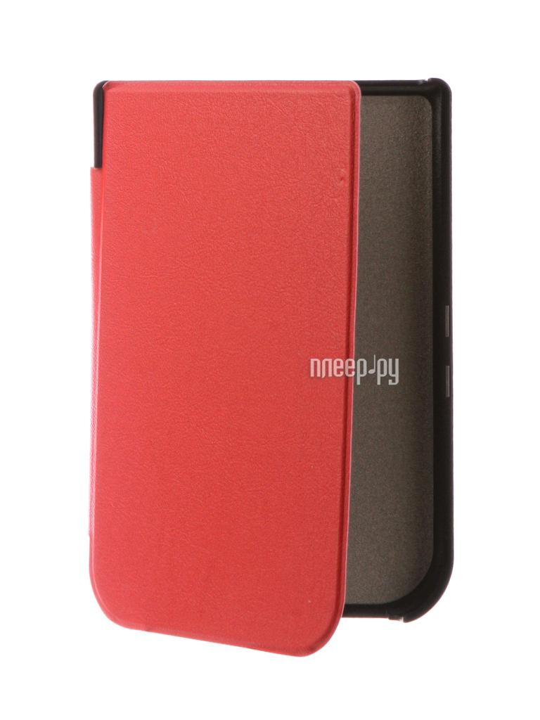 Аксессуар Чехол for PocketBook 631 TehnoRim Slim Red TR-PB631-SL01RD
