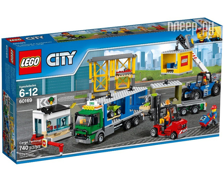 Конструктор Lego City Coast Guard Грузовой терминал 60169