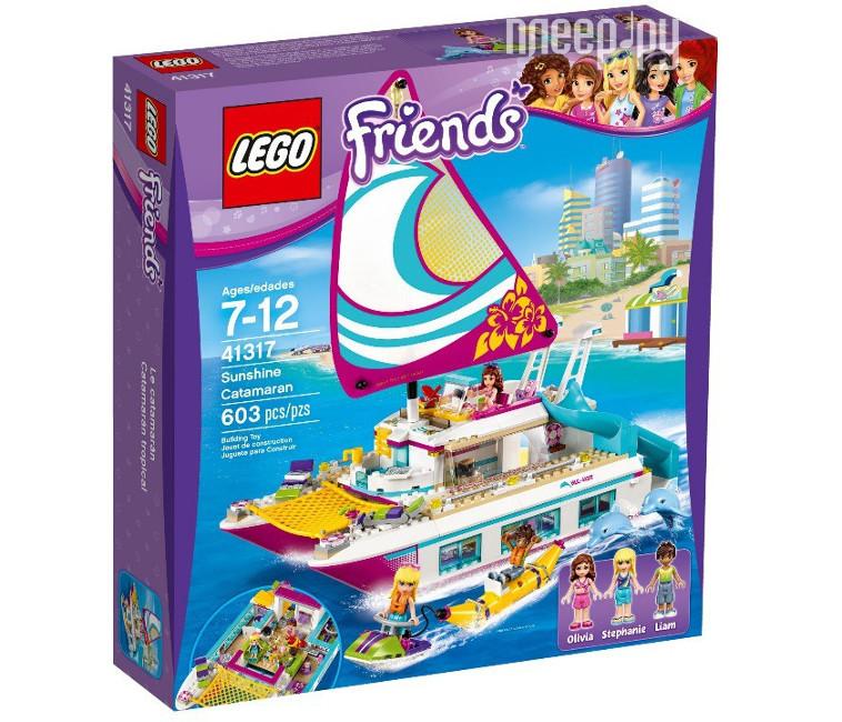 Конструктор Lego Friends Катамаран Саншайн 41317