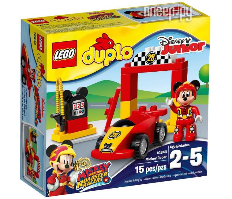 Конструктор Lego Duplo Disney Гоночная машина Микки 10843