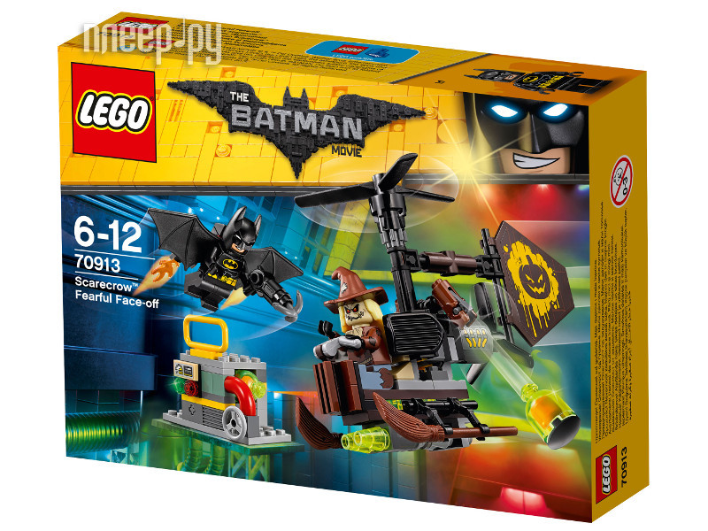 Конструктор Lego Batman Movie Схватка с пугалом 70913