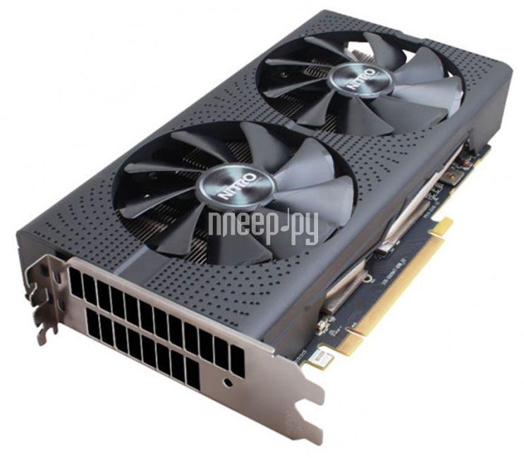 Видеокарта Sapphire Nitro Radeon RX 470 1236Mhz PCI-E 3.0 4096Mb 7000Mhz 256 bit DVI 11256-35