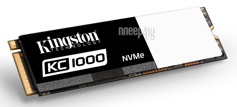 Жесткий диск 960Gb - Kingston KC1000 SKC1000 / 960G