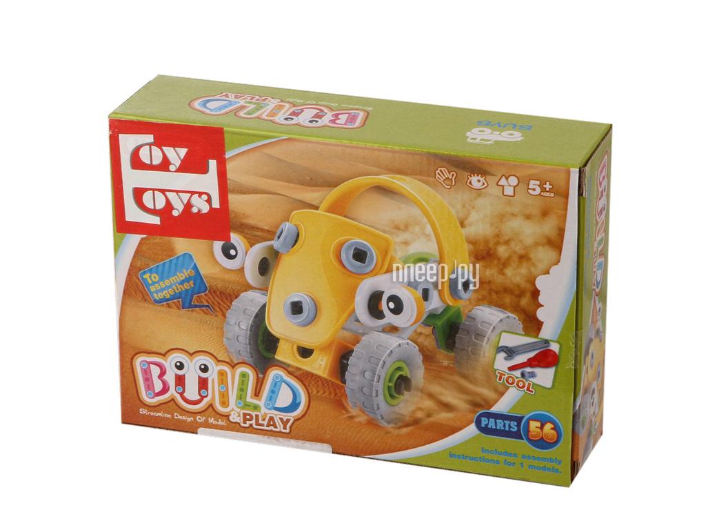Конструктор Toy Toys Пустынная машина 56 деталей TOTO-017