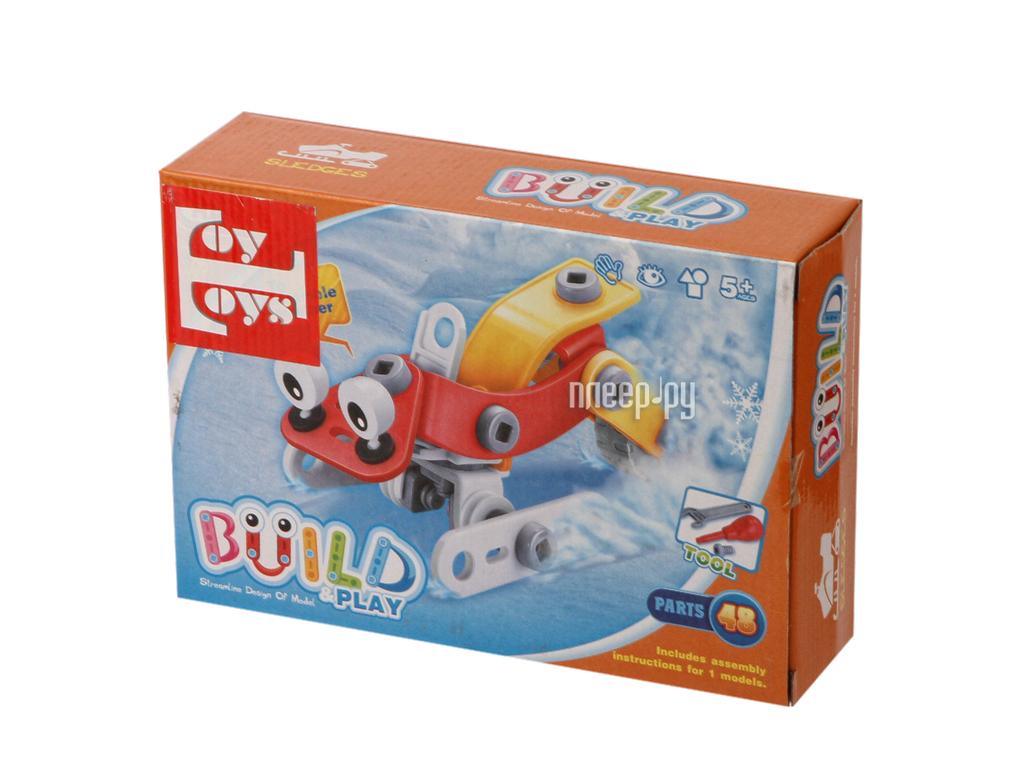 Конструктор Toy Toys Снегоход 48 деталей TOTO-014
