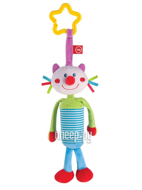 Игрушка Happy Baby Игрушка-колокольчик Кот 330350