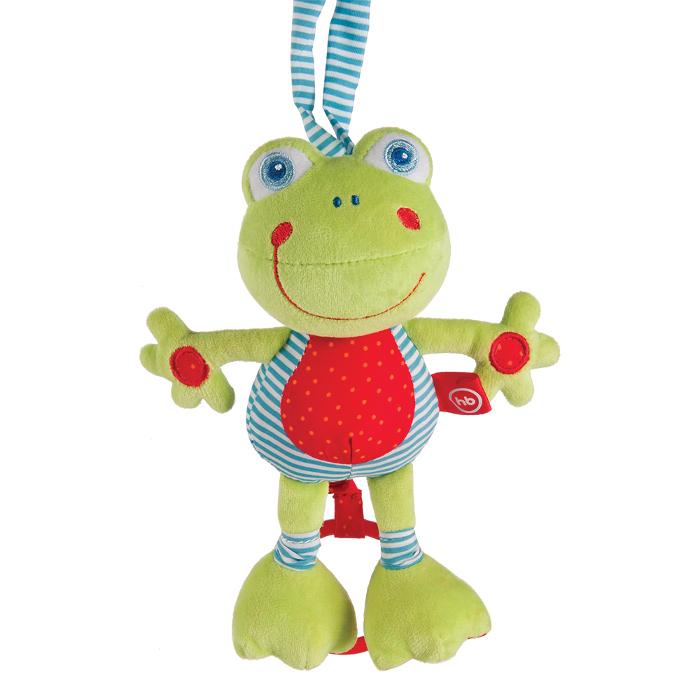 Игрушка Happy Baby Музыкальная игрушка-растяжка Лягушка 330361