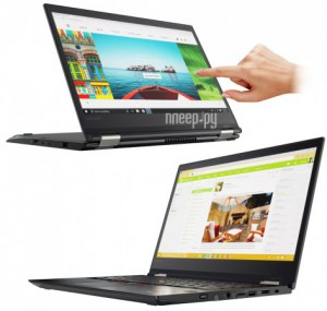 Ноутбук Lenovo ThinkPad Yoga 370 20JH002RRT (Intel Core i7-7500U 2.7 GHz/8192Mb/512Gb SSD/No ODD/Intel HD Graphics/LTE/Wi-Fi/Bluetooth/Cam/13.3/1920x1080/Touchscreen/Windows 10 64-bit)