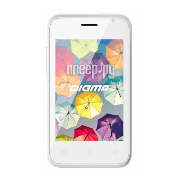 Сотовый телефон Digma First XS350 2G White
