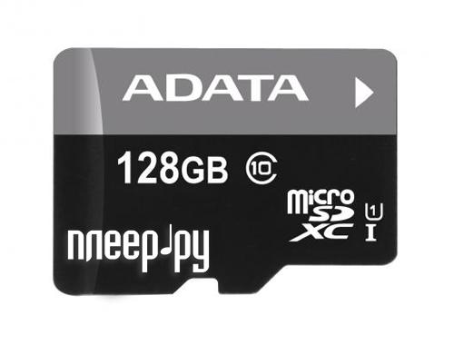 Карта памяти 128Gb - A-Data Premier MicroSDXC Class 10 UHS-I AUSDX128GUICL10 85-R
