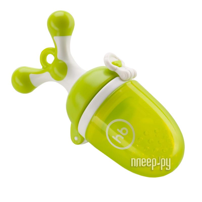 Ниблер с силиконовой сеточкой Happy Baby Lime 15009 за 419 рублей