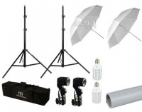 Комплект студийного света FST LED-35 Umbrella II