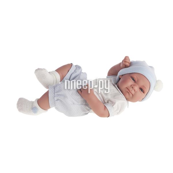 Кукла Antonio Juan Кукла-младенец Оли Light Blue 5051B