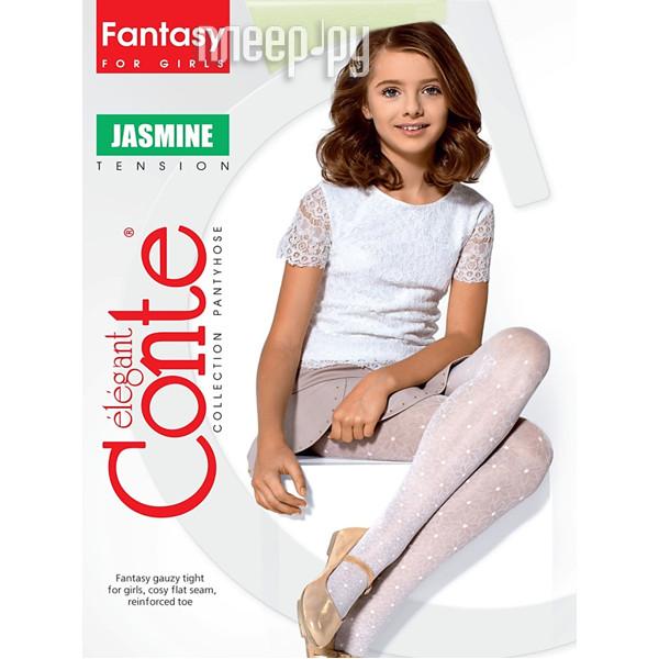 Колготки Conte Jasmine 128-134 Bianco